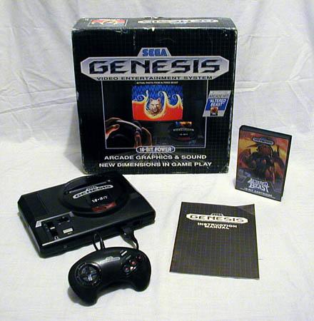 Prva varijanta Sega Genesisa, identična originalnom japanskom Mega Drive-u