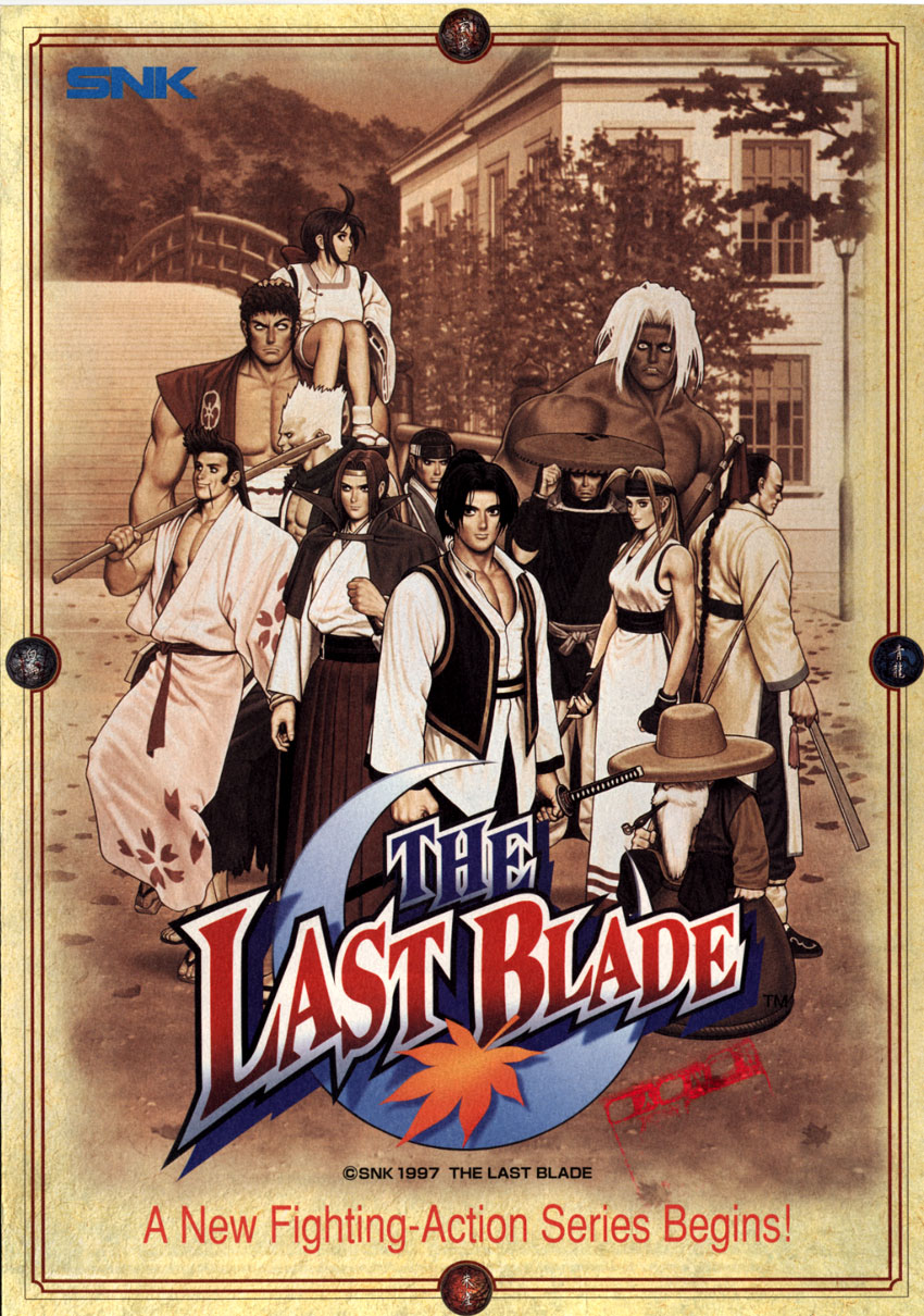 Last Blade - Poster