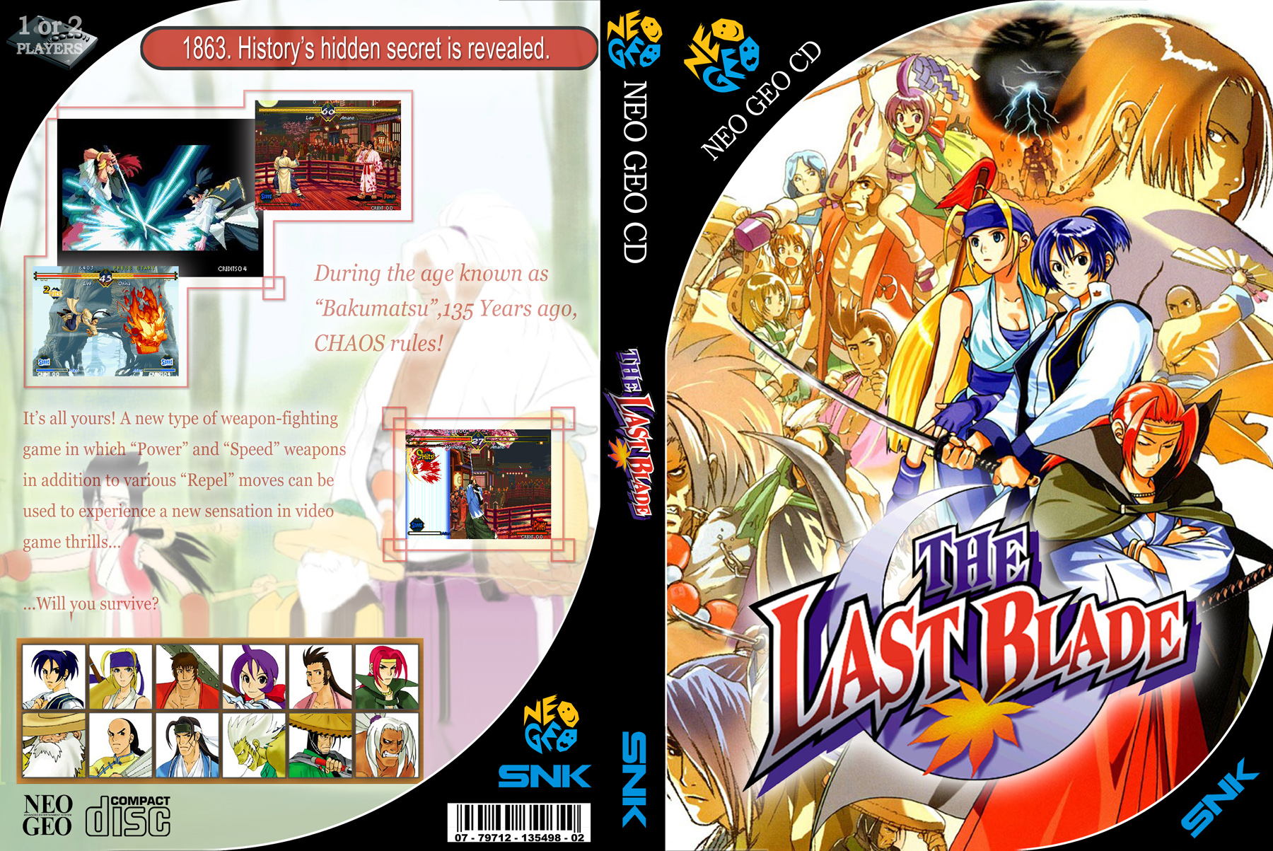 NeoGeo CD - Last Blade