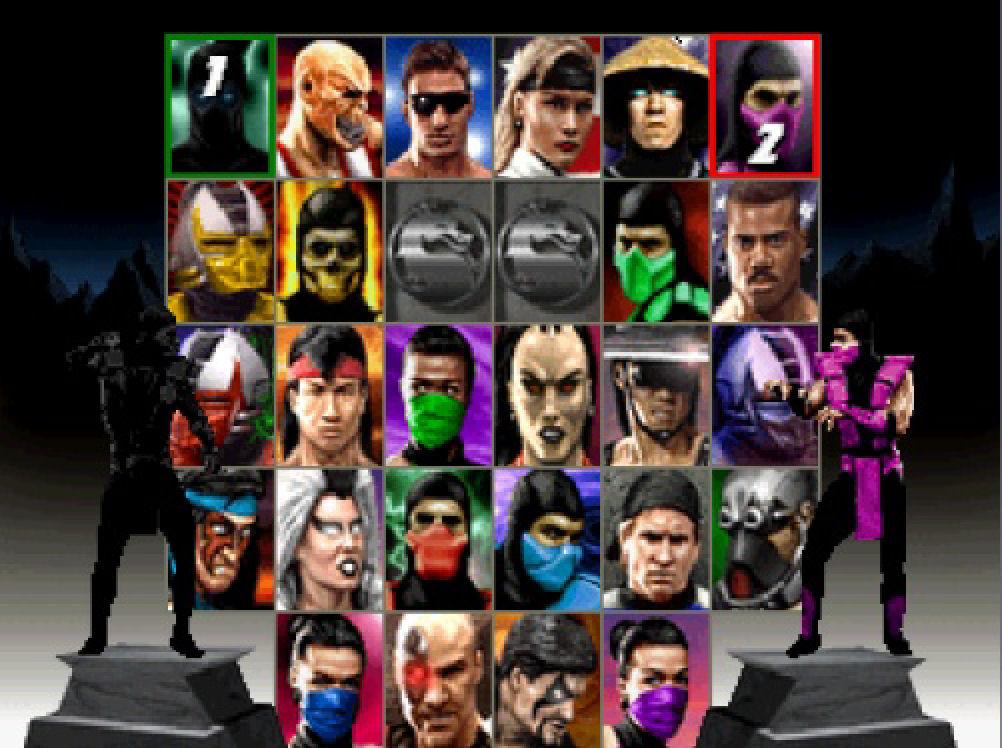 Bez Barake, Johnny Cage-a i Raidena ova verzija MK Trilogy-a se po izboru likova ne bi razlikovala od standardnog Ultimate Mortal Kombat-a 3