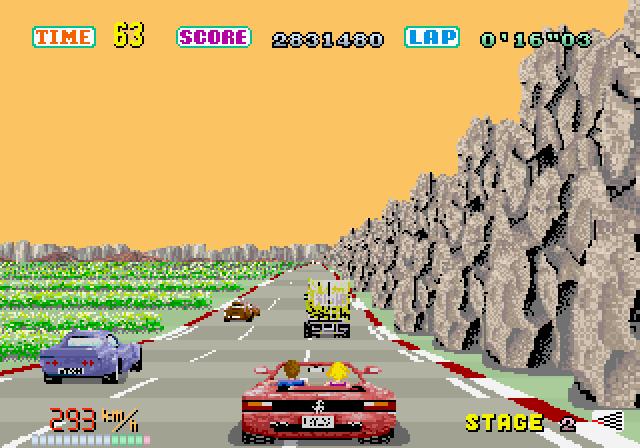 Outrun će zauvek ostati jedna od najlepših vožnji baziranih na sprajtovima