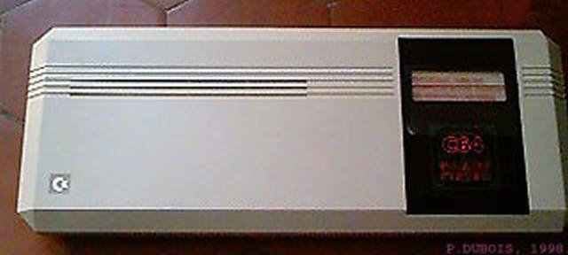C64GS - C64 bez tastature, zamišljen kao konzola za igre - čist promašaj.