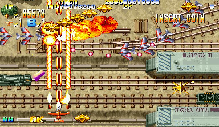 Giga Wing (CPS-2) je jedna od vizuelno najkvalitetnijih pucačina na ovom automatu