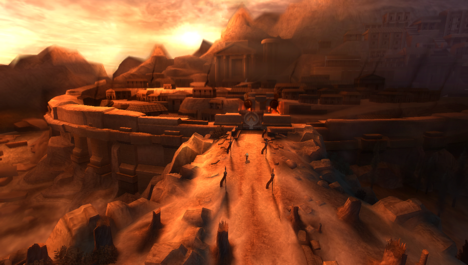 Kratos: kuća, pos'o - pos'o, kuća (God of War: Ghost of Sparta)