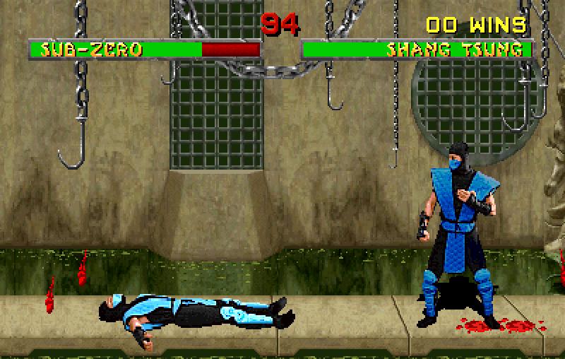 Shang Tsung može da se pretvori u bilo kog lika, čak i u onog protiv koga se trenutno bori