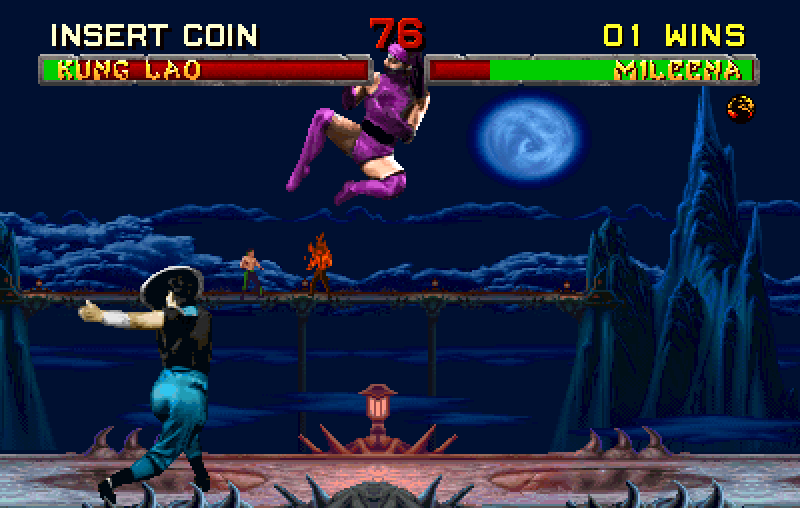 Mileenine magije su prilično efikasne kada se borite protiv CPU protivnika