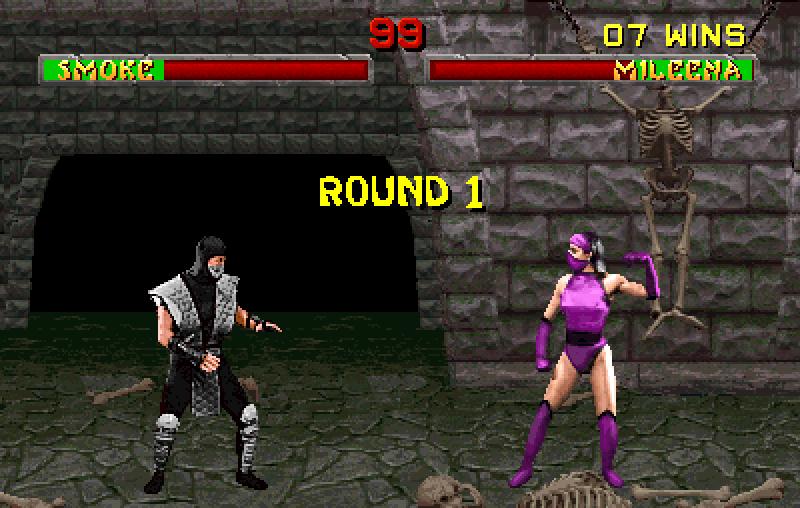 Sa svim skrivenim likovima borićete se isključivo na Goro's Lair mapi preuzetoj iz originalnog Mortal Kombat naslova