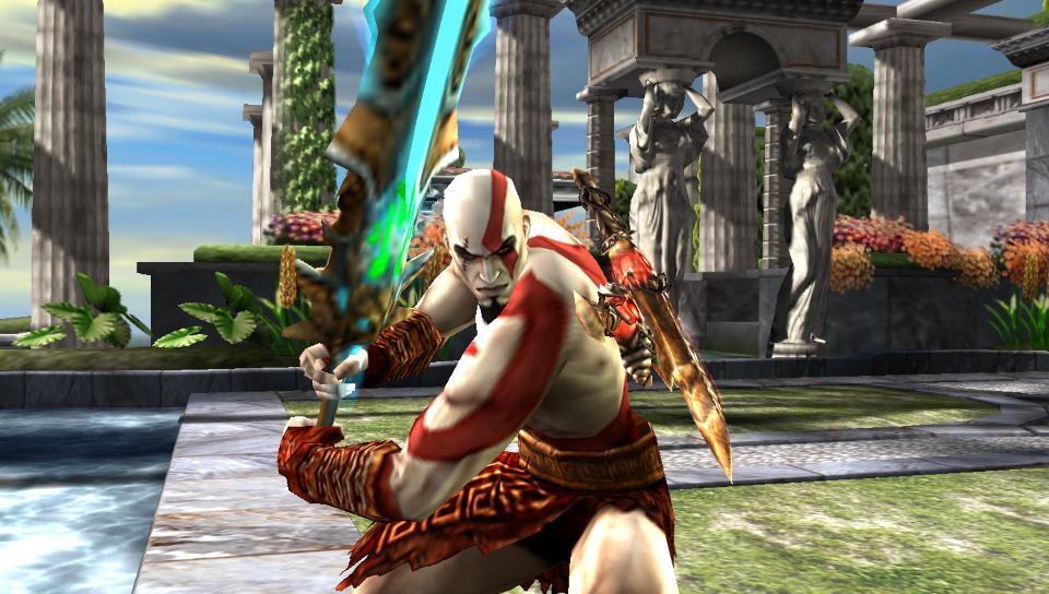 Sad si ga na*eb'o aka more Kratos (Soul Calibur: Broken Destiny)