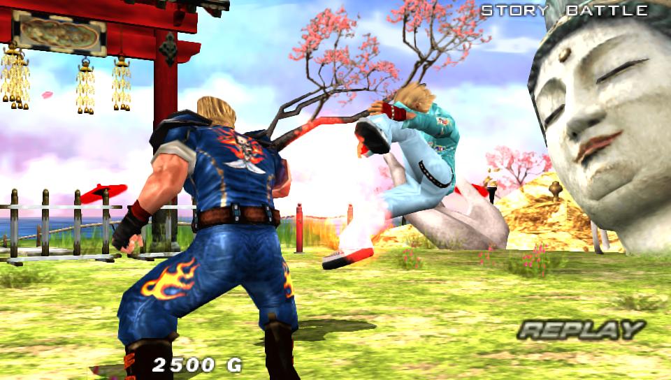 No pain, no gain! (Tekken 5: Dark Resurrection)