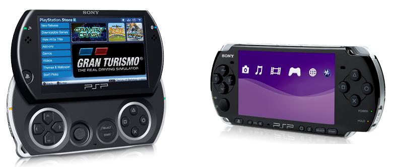PSP Go i PSP 3000