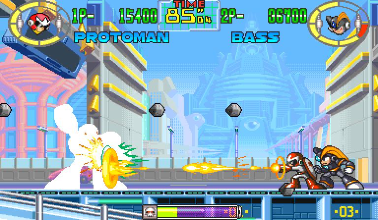Mega Man The Power Battle (CPS-1) zvanično poslednja igra za sistem