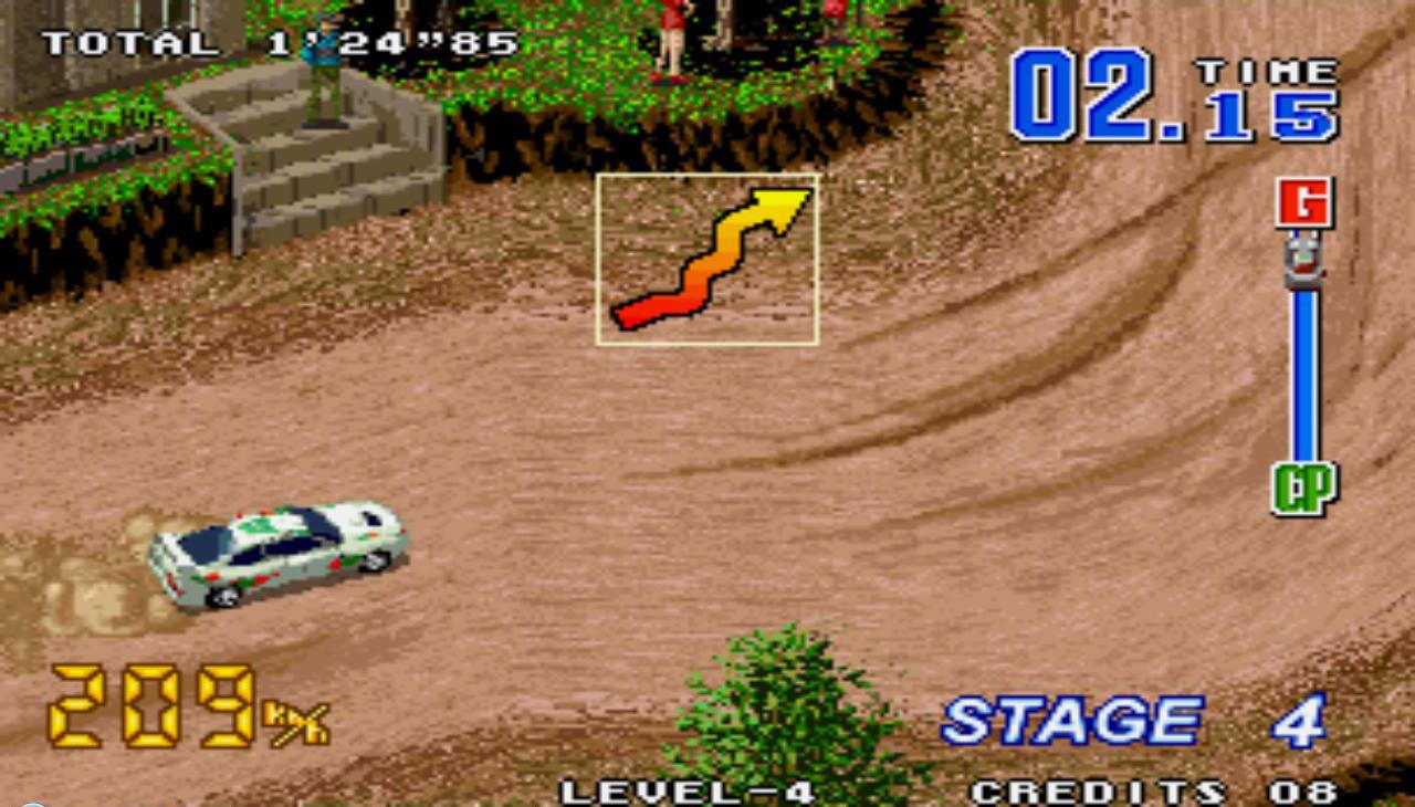 Vozačkih arkada kao što je Neo Drift Out bilo je izuzetno malo