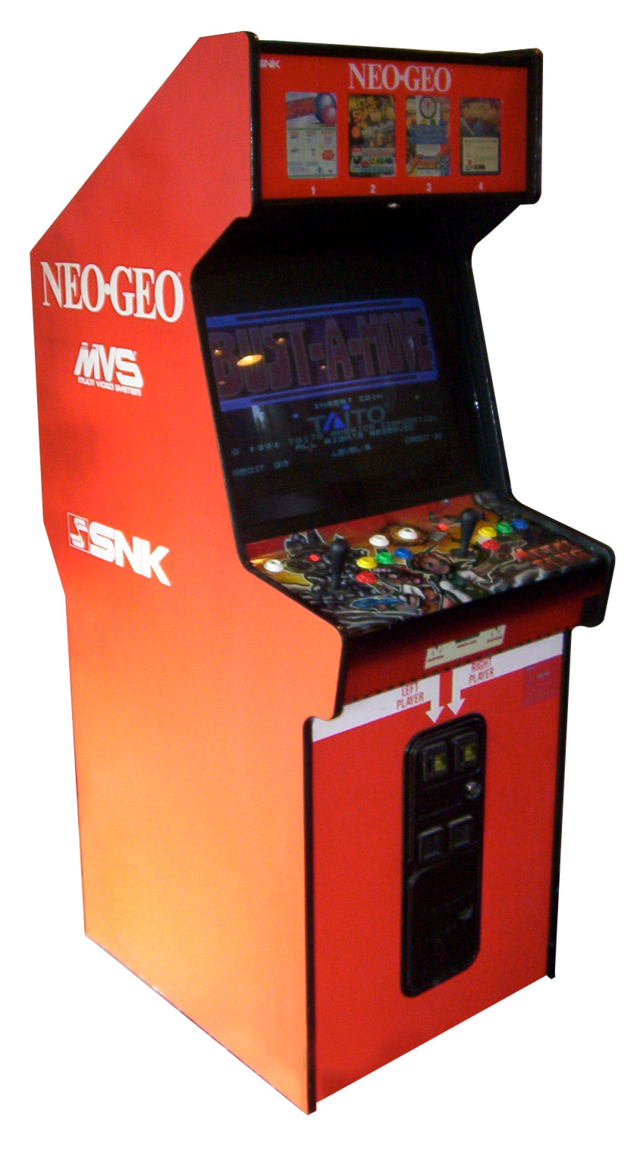 Neo Geo MVS arkadni kabinet