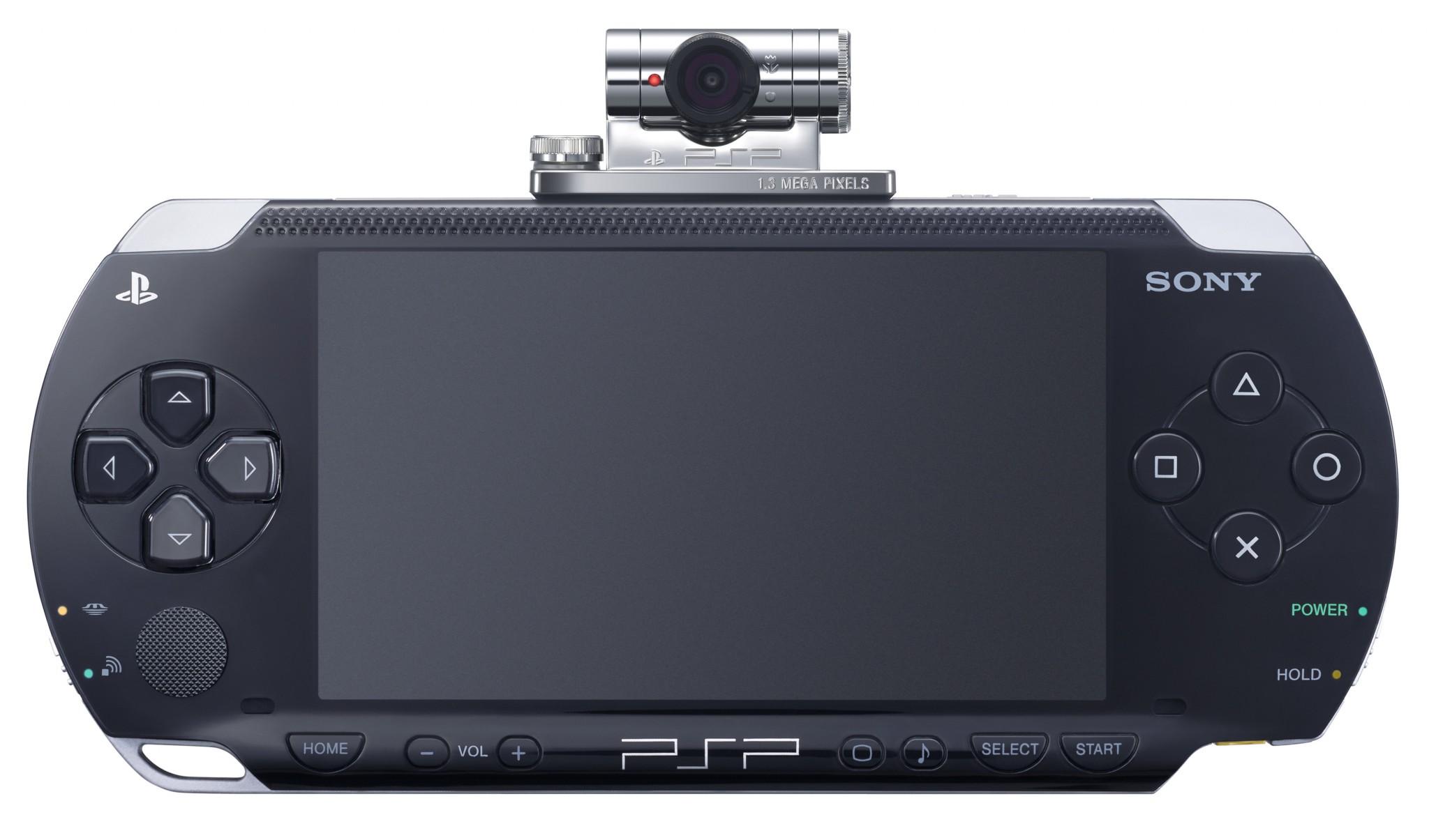 Prvi model konzole - PSP-1000 poznatiji kao PSP Fat sa Go!Cam dodatkom