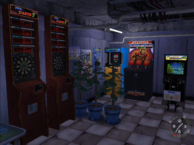 Life in the arcade