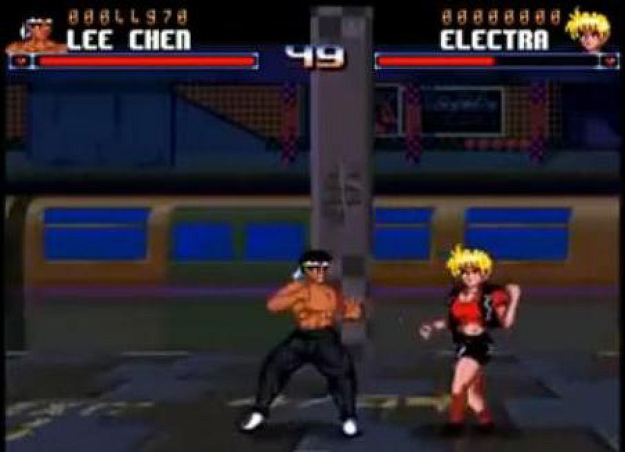 Ono što je Blanka bio u Street Fighter-u to je Electra u Shadow Fighter-u