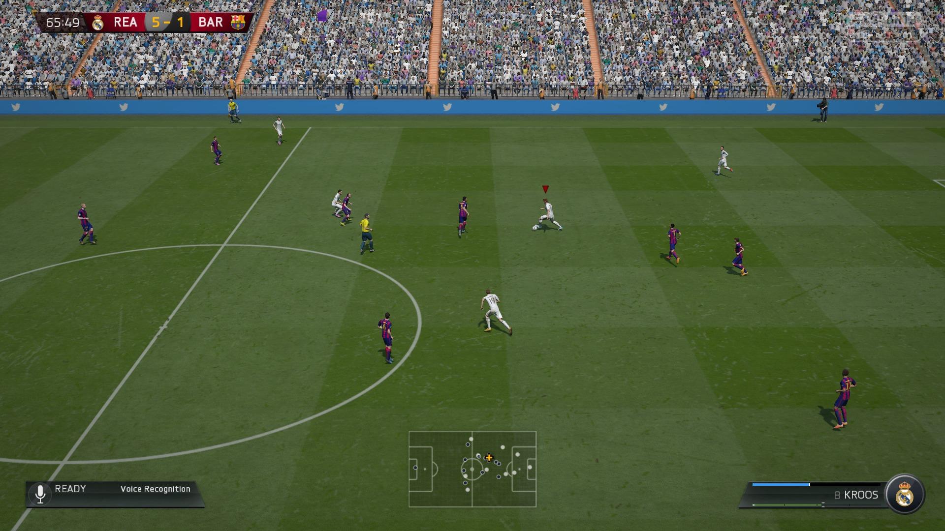 FIFA 15 Kick Off 5-1 REA V BAR, 2nd Half