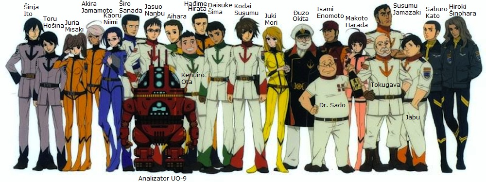 yamato crew