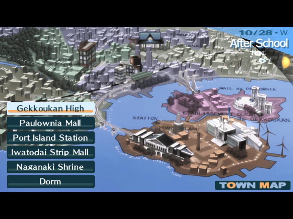 Mapa Iwatodai