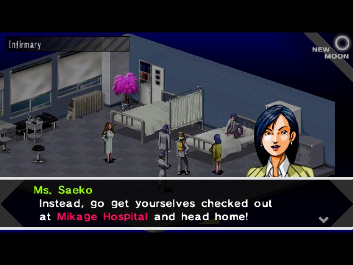Tipičan dijalog u igri