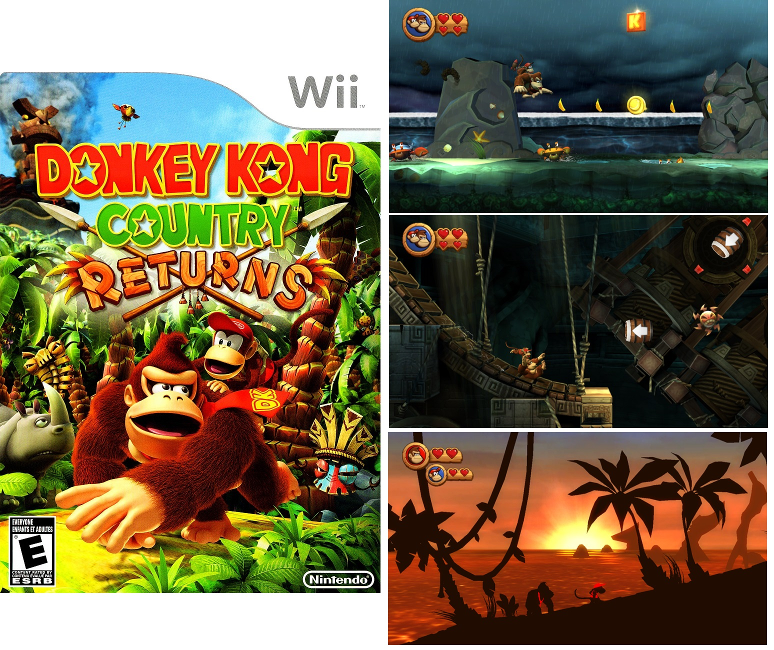 Donkey Kong Country Returns Wii 2010 (2)