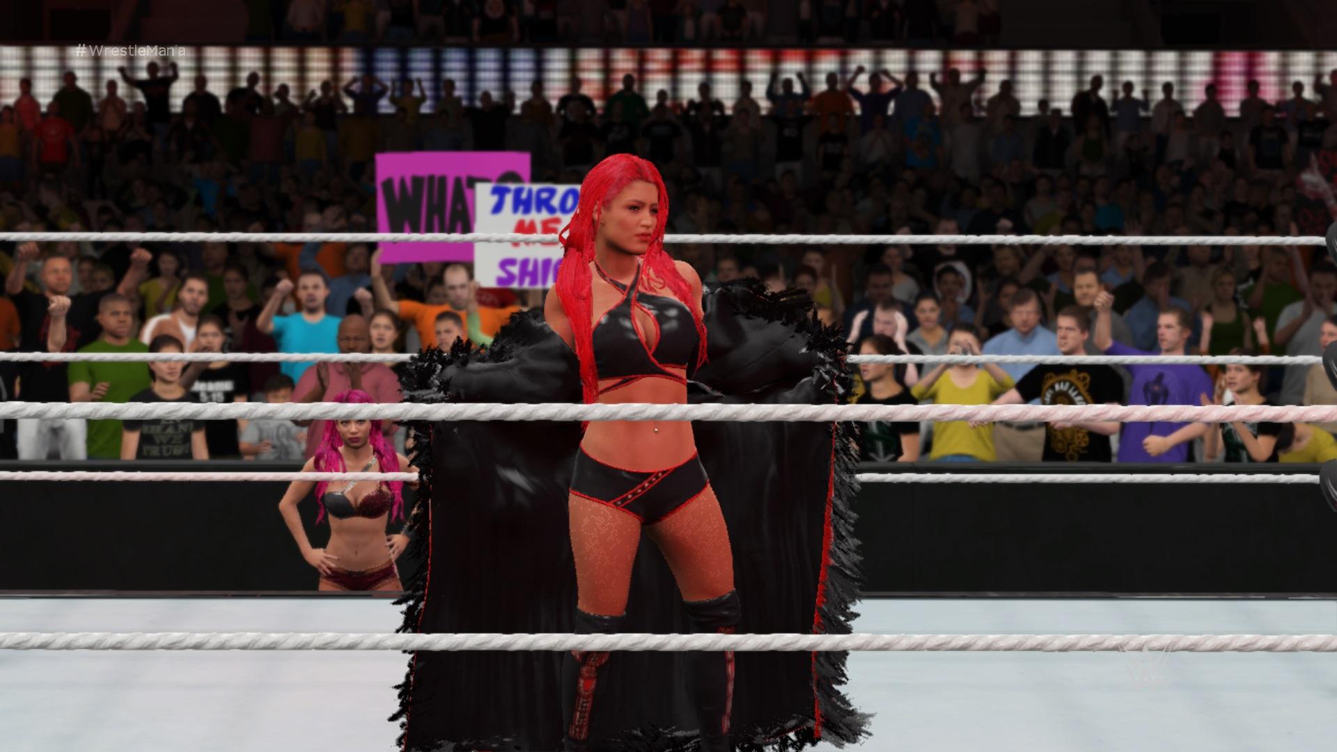 Eva Marie je nekim čudom i dalje tu, Sasha doesnt approve