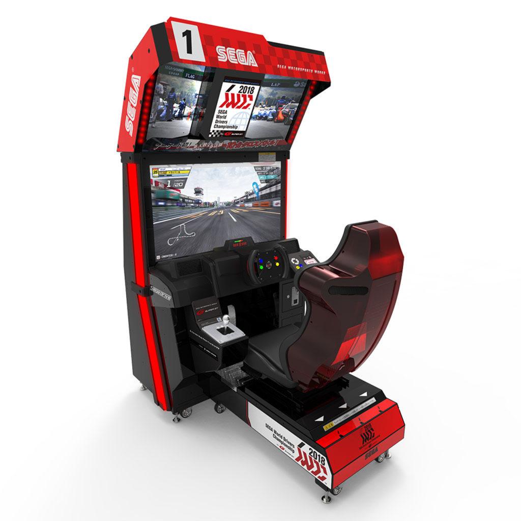 SEGA World Drivers Championship kabinet1