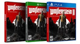 Wolfenstein II The New Colossus art cover thumb