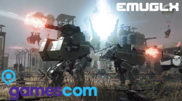EMUGLX GAMESCOM 2017 METAL GEAR SURVIVE